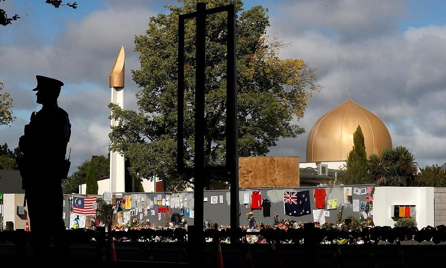 Al Noor Mosque (left) was one of two places in Christchurch targeted by a white supremacist gunman who killed 51 people and injured dozens on March 15. In the wake of the shooting, New Zealand Prime Minister Jacinda Ardern (above) met members of the