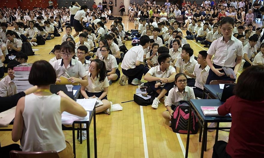 Singapore students topped the world for the number of self-declared worrywarts who linked exam performance with future success, according to Pisa survey results, but they were also among the top who believed in their own abilities.
