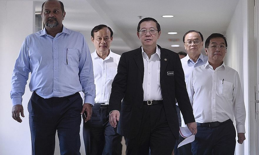 Following the Pakatan Harapan (PH) coalition's victory in the last general election, key posts were given to Mr Lim Guan Eng (centre) and Mr Gobind Singh Deo (left) of the Democratic Action Party, a component party of PH. These and other moves upset