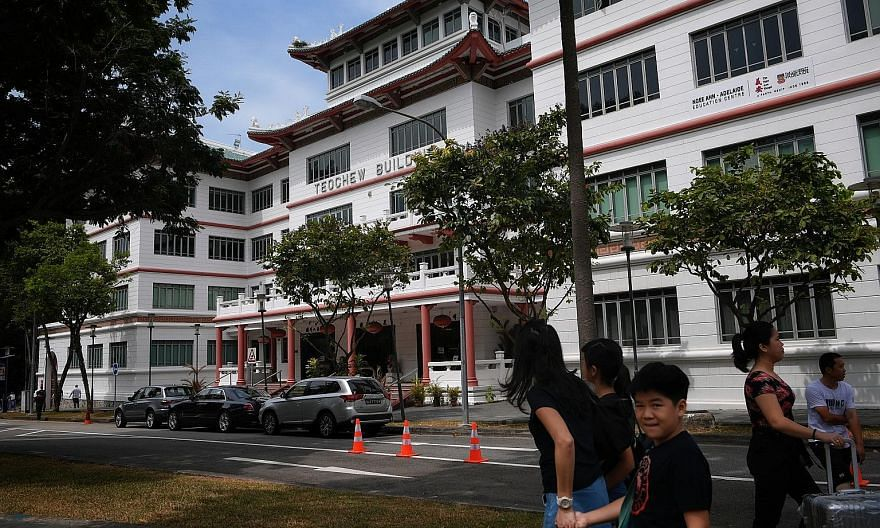 The Teochew Building in Tank Road was occupied by Ngee Ann Kongsi and Teochew Poit Ip Huay Kuan together for 55 years. In 2018, the Kongsi served an originating summons for the Huay Kuan to vacate the building for redevelopment, but the Huay Kuan ref
