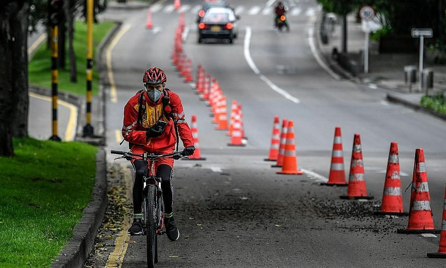 Some cities have recently announced greatly increased cycling and pedestrian networks, driven in part by guidance from the World Health Organisation on moving around during the Covid-19 pandemic.