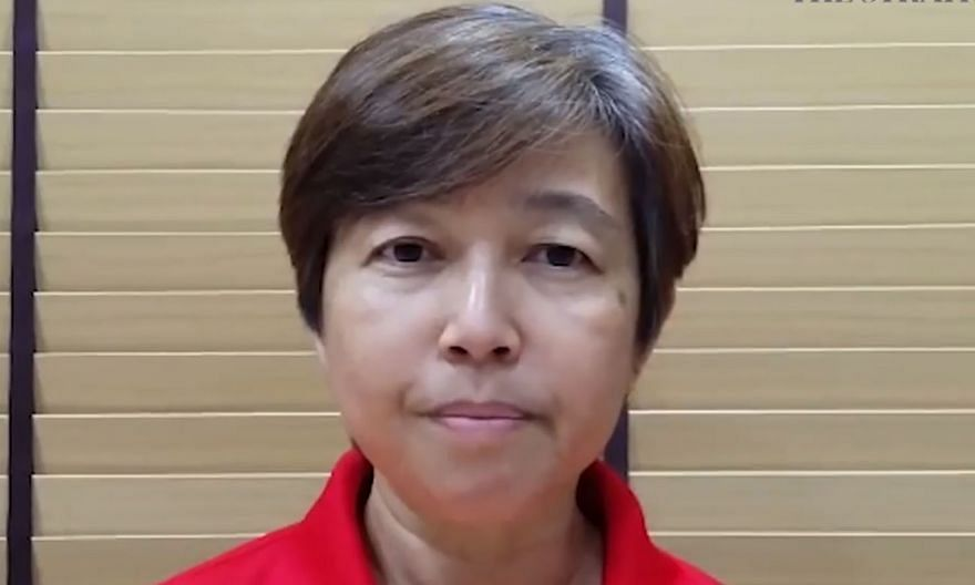 Wong Liang Ming, 57, is disappointed with the suspension, which bars her from coaching.