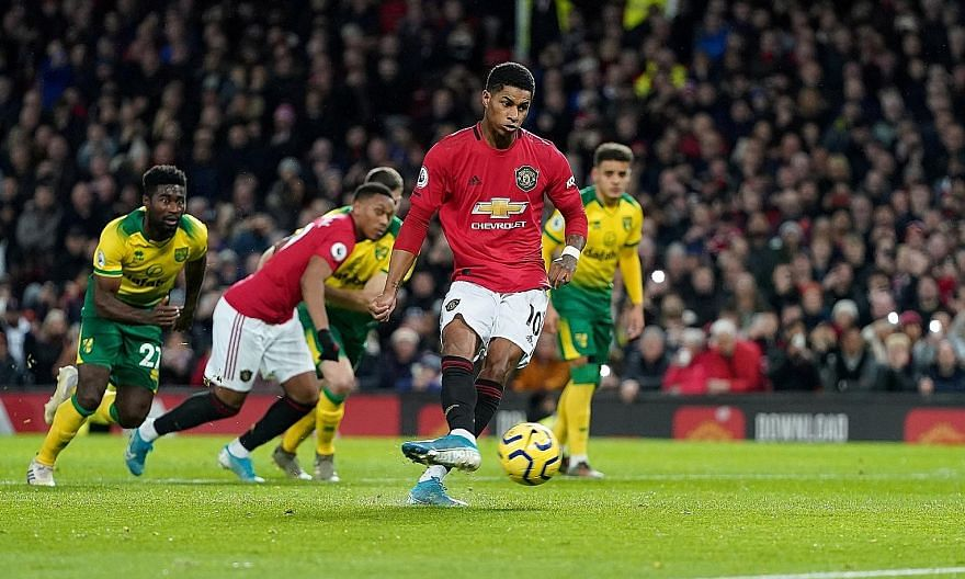 Manchester United striker Marcus Rashford is among four England players listed in the top five of CIES Football Observatory's transfer value list released on Monday. He is set to star in next year's postponed Euro 2020.