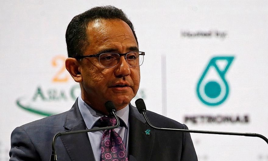 Petronas president and CEO Wan Zulkiflee Wan Ariffin in a 2019 file photo. He was reassigned as chairman of beleaguered national carrier Malaysia Airlines amid widespread speculation that he was set to resign from the national oil company over differ