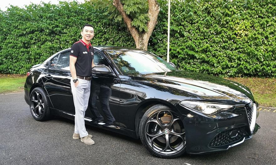 Mr Sebastian Teo electronically modified the Alfa Romeo Giulia Veloce with a Racechip tuning system to eke out more power and added an aftermarket Ragazzon sport exhaust to tweak the sound.