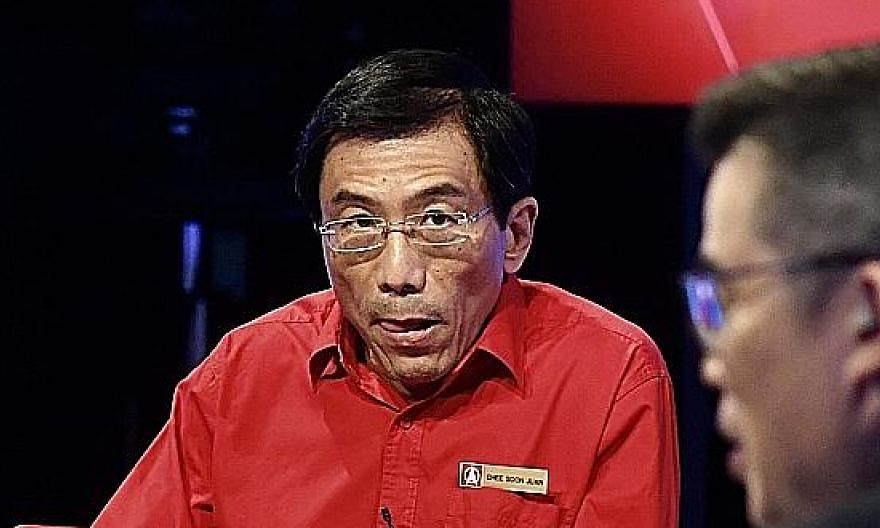 SDP chief Chee Soon Juan said the party's proposed social policies would amount to about $5 billion.
