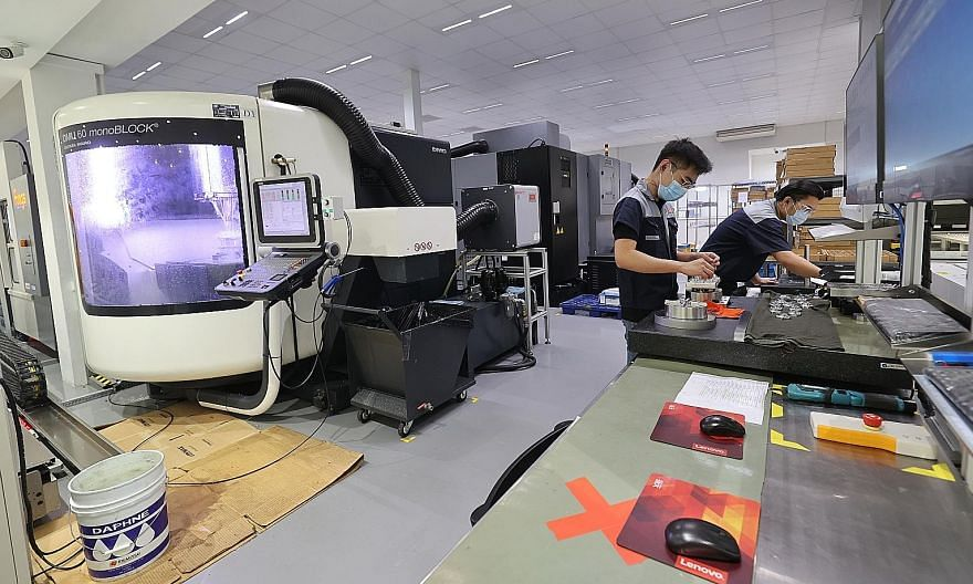 A manufacturer of high-end medical devices in Loyang last month after phase one of the economy's reopening. Key Purchasing Managers' Index sub-indexes that reflected improving conditions for a second month included new orders, new exports, factory output,