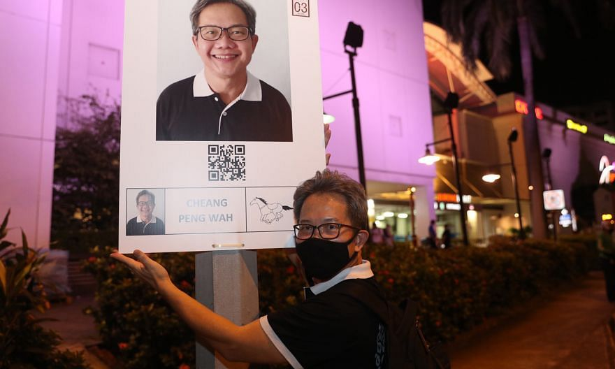 Mr Cheang Peng Wah is running against People's Action Party's Patrick Tay and Progress Singapore Party's Lim Cher Hong.