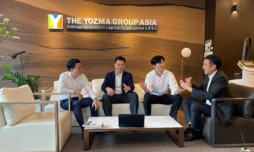 A Yozma Group Korea brainstorming session in Seoul. The Israeli venture capital firm, founded in Tel Aviv in 1993, set up its South Korean arm in 2015 and now has offices in Hong Kong and Singapore as well.