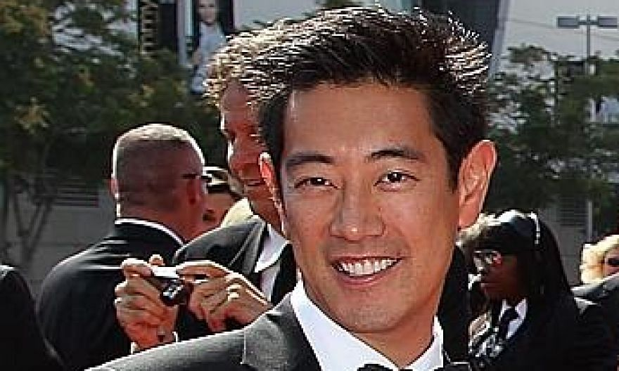 Grant Imahara at the Primetime Creative Arts Emmy Awards in Los Angeles, California, in 2011.
