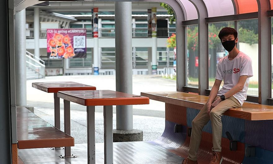 Singapore Polytechnic (SP) student Lee Rui Xuan, 22, scored a grade point average of 3.88 in his first year, and received an SP Engineering Scholarship, which is awarded to those in the top 5 per cent of their cohort. He plans to use the scholarship