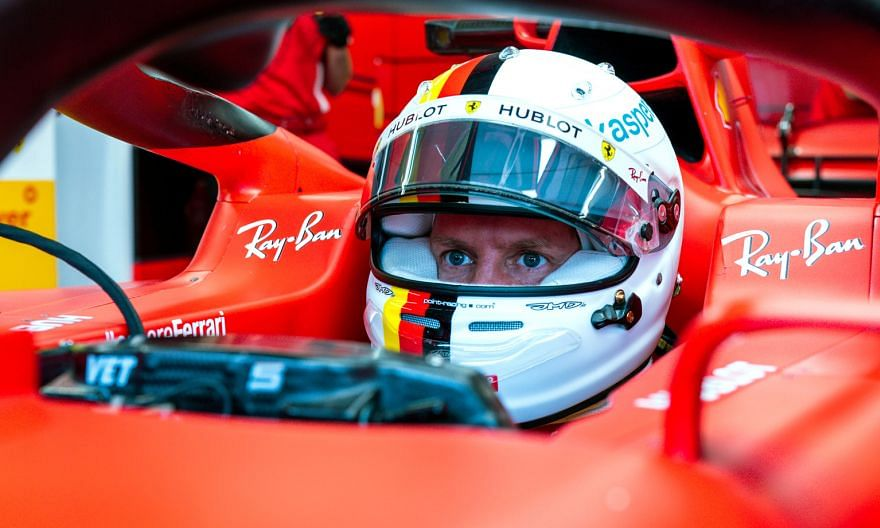 Ferrari driver Sebastian Vettel has struggled in the embryonic F1 season. The German is 10th in the drivers' standings with nine points. PHOTO: REUTERS