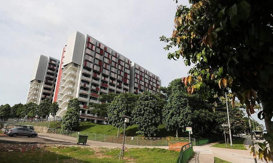 Sungei Tengah Lodge in Old Choa Chu Kang Road was on April 9 gazetted as an isolation area to curb the spread of the virus. ST FILE PHOTO