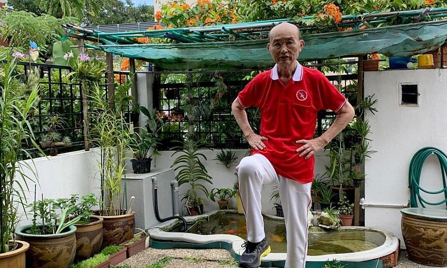 Mr Wong Shin Liang, 71, who was diagnosed with Covid-19 in early February, says he is glad to have a second stab at life.
