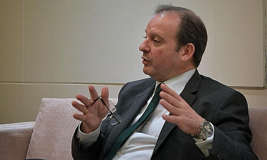 Mr Peter Kaliaropoulos first joined StarHub in 1999 as a senior vice-president, then left in 2000. He rejoined in 2018 as chief executive.