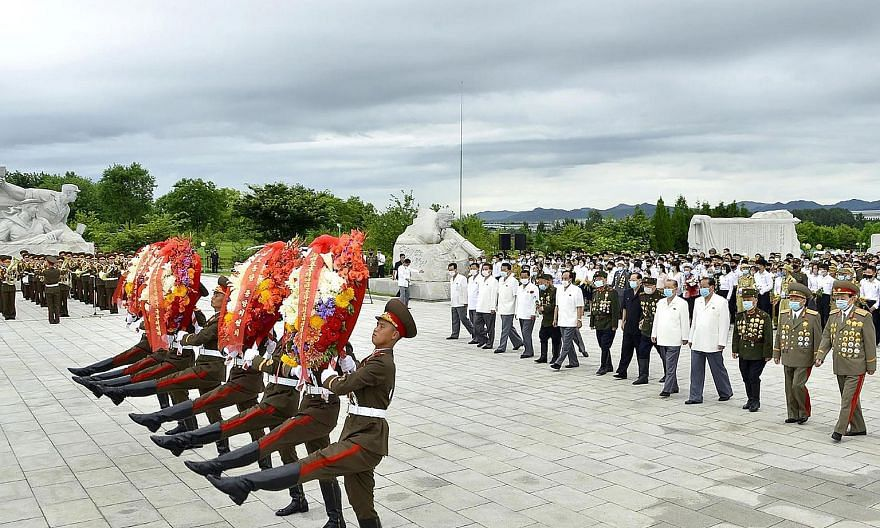 An event in Pyongyang marking the 67th anniversary of the Korean War ceasefire on Monday. South Korean President Moon Jae-in has appointed two long-time lawmakers as point men on North Korea, seeking to cement progress with the North as a major legac