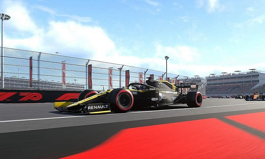 Gamers can create their own F1 team and enter the 2020 season as the 11th team on the grid in the official F1 2020 game.