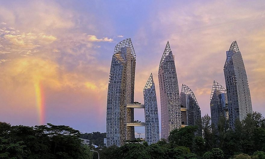 In the rest of central region, the highest transacted price was $5.85 million for a unit at Reflections at Keppel Bay (above), while Skyline @ Orchard Boulevard once again took the top spot for the highest transacted price, with a unit resold for $14