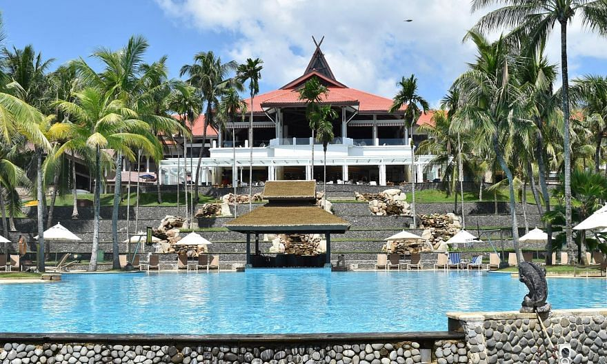 Bintan Lagoon Resort is located about a 60-minute ferry ride from Singapore, in Lagoi on Bintan Island. While it is shuttering, the rest of the resorts and hotels in the Lagoi area remain in operation serving domestic tourists.
