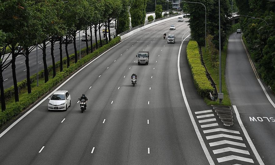 With less traffic during the circuit breaker period, the number of fatalities and injuries recorded on the road in the first half of the year fell by 37 per cent to 3,071, down from 4,876 in the same period last year.