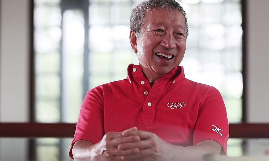 Ng Ser Miang was instrumental in putting together Singapore's winning bid to host the inaugural Youth Olympic Games.