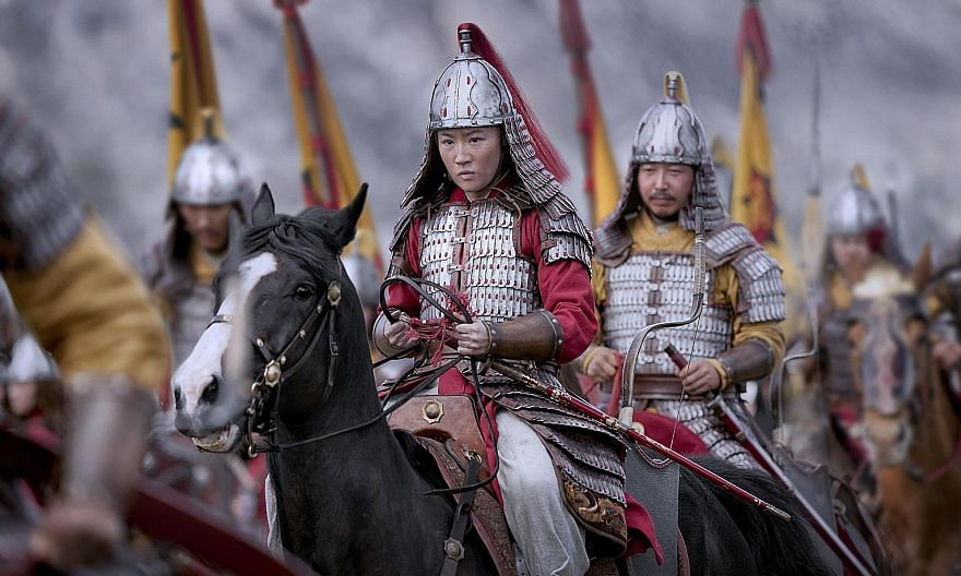 Mulan features a stellar cast, including Donnie Yen (left), Jet Li (above left), Jason Scott Lee and Gong Li (both above). Liu Yifei plays the titular role of Mulan, a girl who disguises herself as a man to serve in the army, taking the place of her