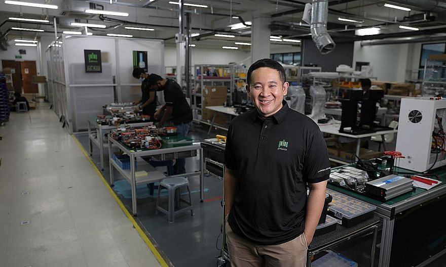 Mr Amrin Amin, a member of the People's Action Party team that lost to the Workers' Party team in Sengkang GRC in the July general election, will be strategy director at robotics and automation firm Platform for Bots and Automation (above) and non-ex