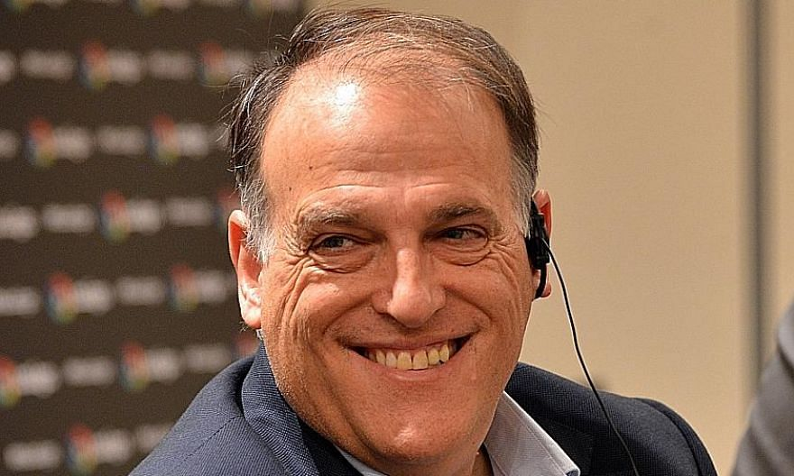 La Liga chief Javier Tebas says it has been working on the basis of its brand being more important than clubs and players.