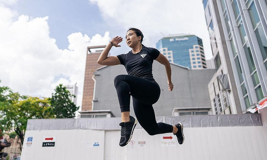 Fitness coach Sabrina Sng's mantra is to stay consistent with training, and have a good dose of self-love, sleep and work-life balance.