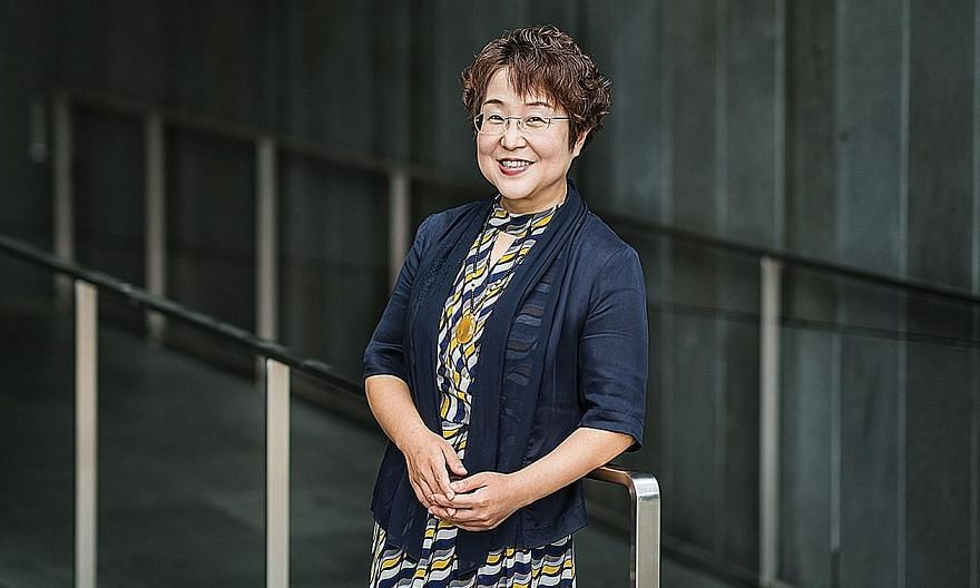 Associate Professor Wang Wenru is the only person from Singapore this year to be named a fellow of the American Academy of Nursing, one of the nursing profession's highest honours. PHOTO: NATIONAL UNIVERSITY OF SINGAPORE'S ALICE LEE CENTRE FOR NURSIN
