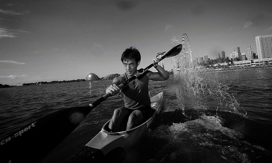 Brandon Ooi, 26, wants to move towards being more in tune with what he feels on water. The 26-year-old, a multiple medallist at the SEA Games, is working towards next year's Olympics.