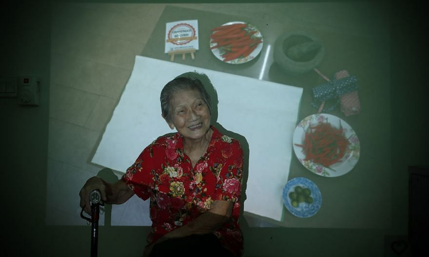 Today is World Alzheimer's Day, and dementia is no barrier to staying active, as Madam See Liang Hau, 85, shows. She teaches others how to cook via Facebook Live in a series by her home, Apex Harmony Lodge, to empower residents like her. As Covid-19