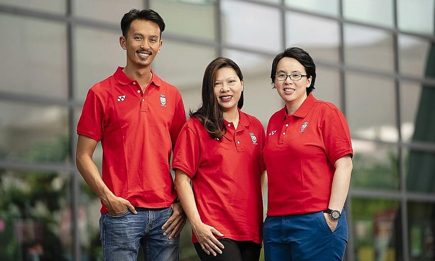 Fencing and bowling chiefs Juliana Seow (left) and Jessie Phua were voted vice-presidents of the Singapore National Olympic Council yesterday. ST FILE PHOTOS