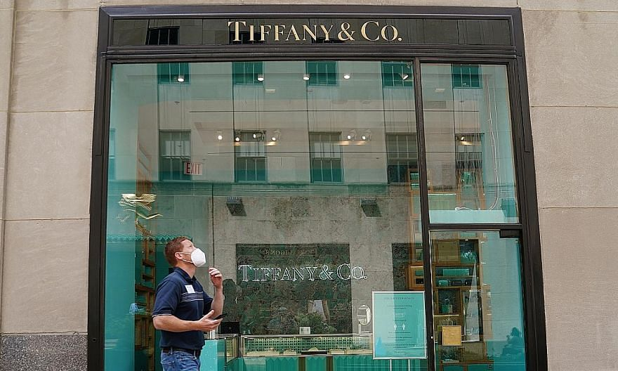 Tiffany & Co sued LVMH earlier this month, objecting to the French company's decision not to proceed with the deal they signed last November. PHOTO: REUTERS