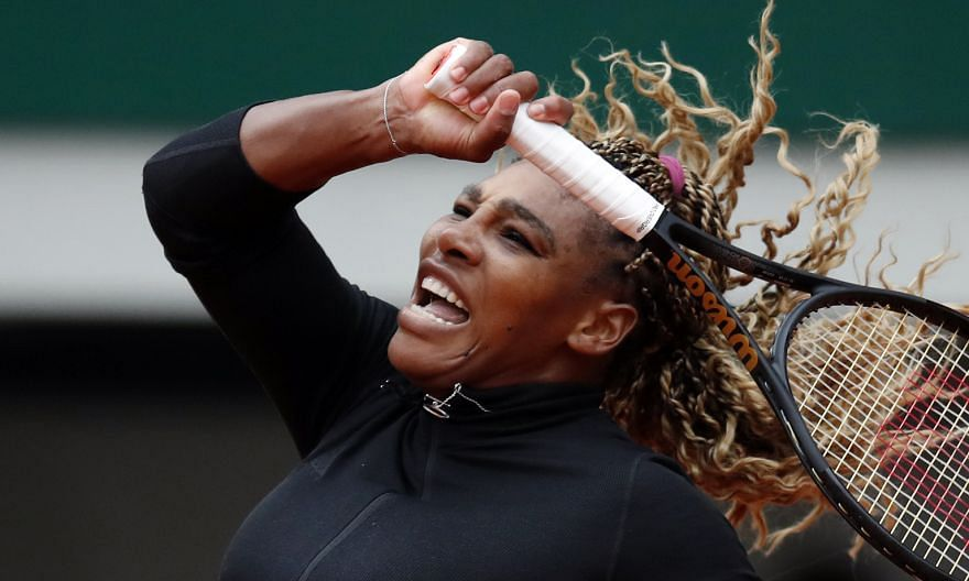 While Serena Williams was not at 100 per cent physically, she had recovered sufficiently from her Achilles tendon injury suffered at the US Open to play in Paris. But she apparently aggravated it while practising for her second-round match yesterday.