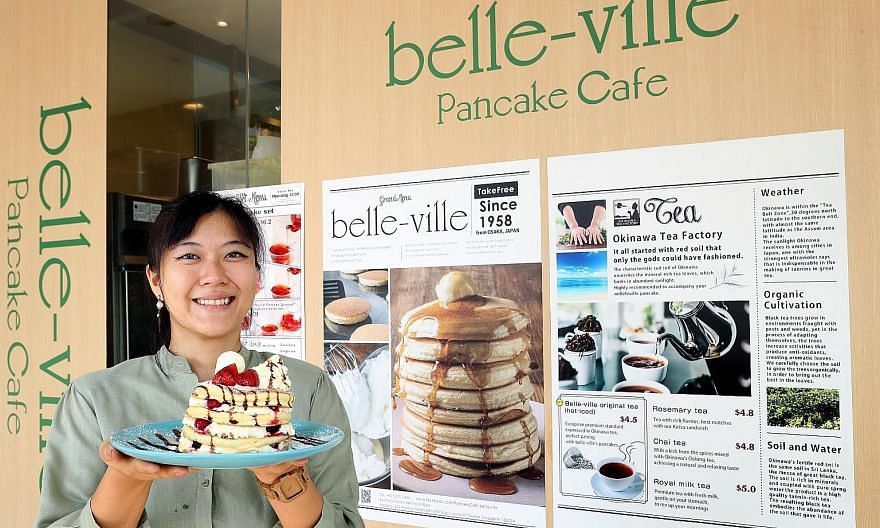 Above: Taxi firm ComfortDelGro, a Wirecard client, is working with several alternative payments providers to minimise impact to its customers. Below: Belle-Ville pancake cafe, which also uses Wirecard's services, saw its credit card transactions reje