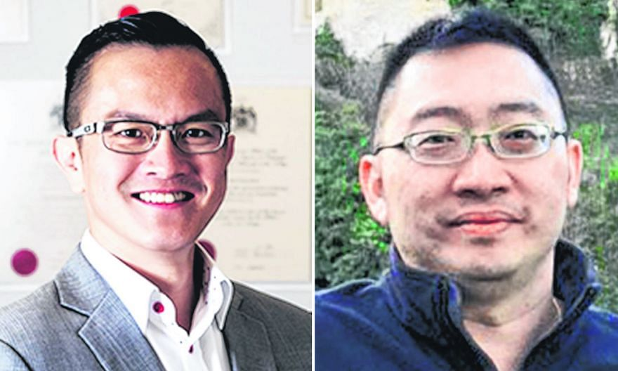 """Although Dr Julian Ong (above, left) has won the case against Ms Serene Tiong, both he and Dr Chan Herng Nieng (above, right) """"do not have any reason to hold their heads high"""", says High Court Justice See Kee Oon. He says """"their blatant treatment of"""