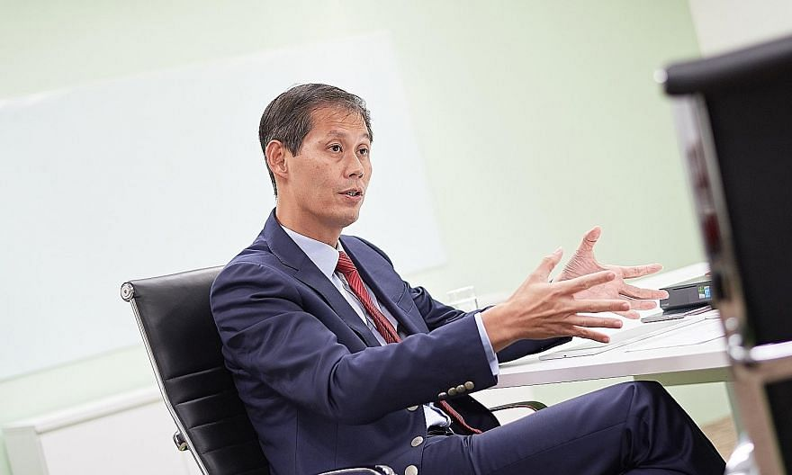 """Dr Goh Jin Hian said he was """"surprised that the judicial managers have commenced an action so unilaterally"""" without engaging him on the full side of his story."""