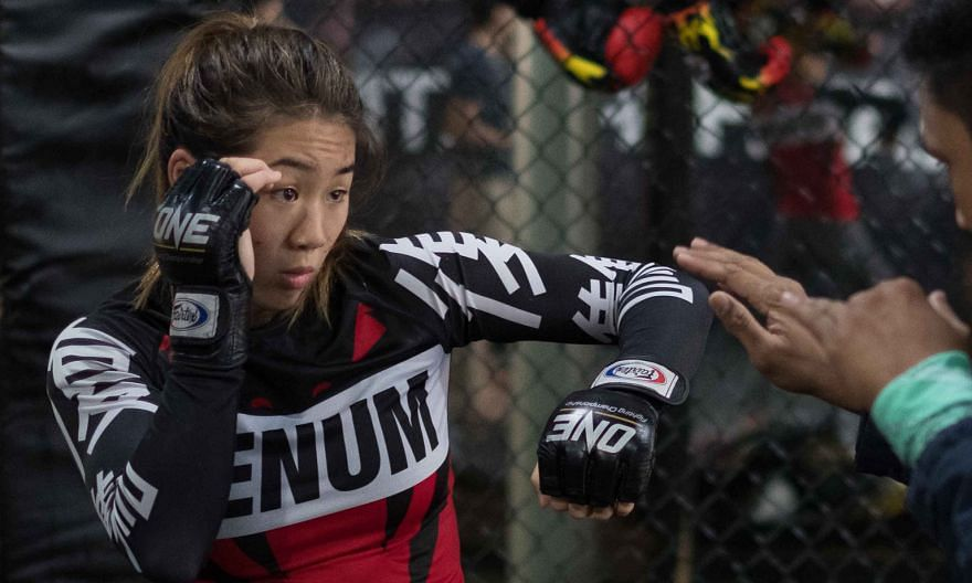 Angela Lee's One Championship atomweight title bout against Denice Zamboanga of the Philippines this month has been postponed after she revealed last week she is carrying her first child.