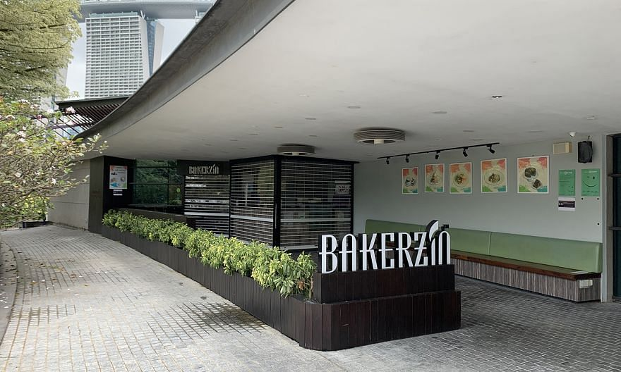 Bakerzin's outlet at Gardens by the Bay.