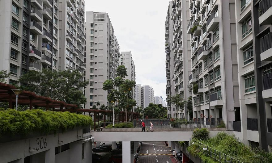 Treelodge@Punggol (above), Singapore's first public-housing project with eco-friendly features, incorporated greenery and a community garden in the design of the carpark roof. In Northshore Residences I, sensors are tapped for more efficient maintena