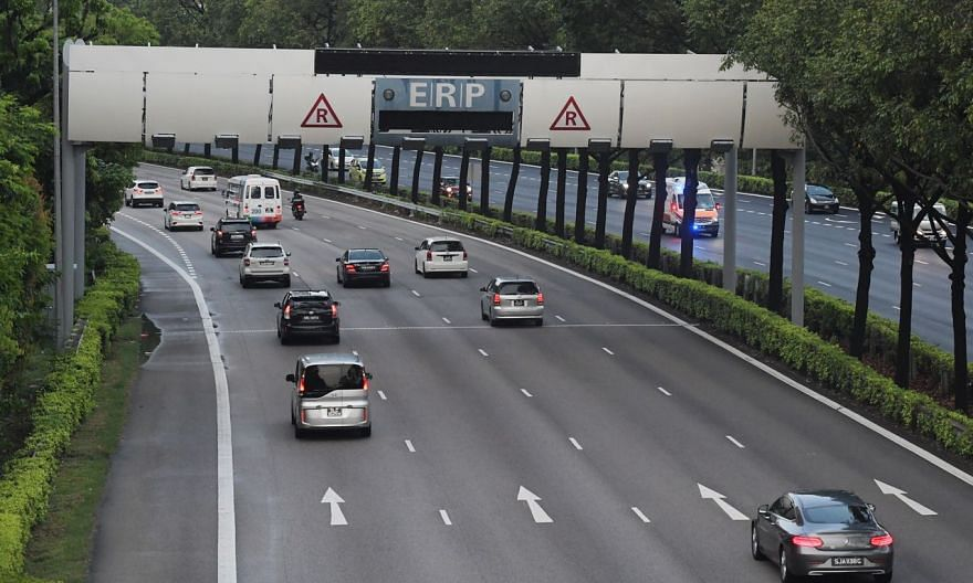 ERP gantries along the citybound CTE will have a charge of $1 per pass between 8.30am and 9.30am - up from zero now.