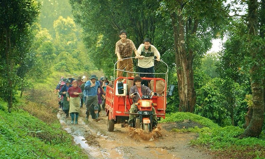 Coffee Or Tea? follows three lads whose fates become entwined in the hills of Yunnan Province.