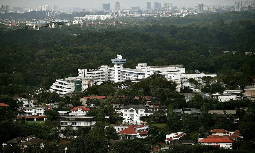 The Caldecott Broadcast Centre in Andrew Road (above) served as the broadcast hub for more than six decades until 2015, when Mediacorp moved to one-north. The plan is to redevelop the 752,015 sq ft site into 67 bungalow plots.