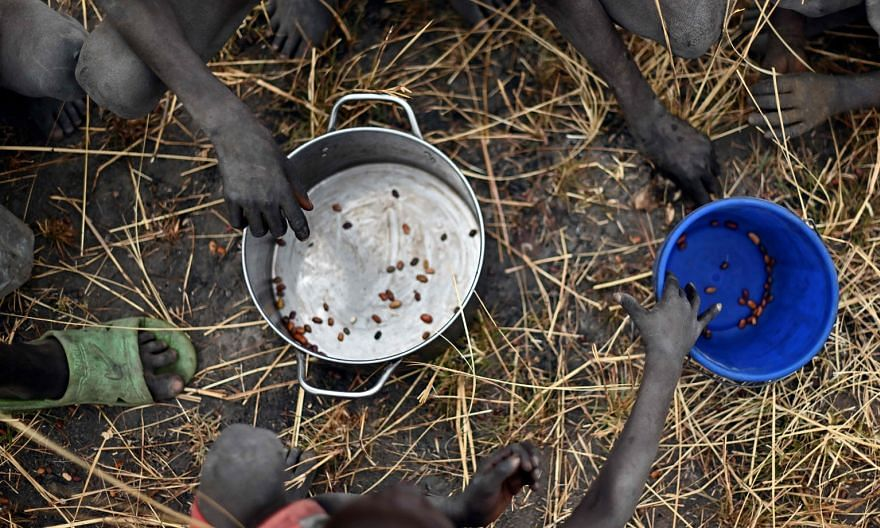 The UN World Food Programme, which was awarded the Nobel Peace Prize for its efforts to prevent the use of hunger as a weapon of war and conflict, has so far raised $2.17 billion in its bid to to avert famine.