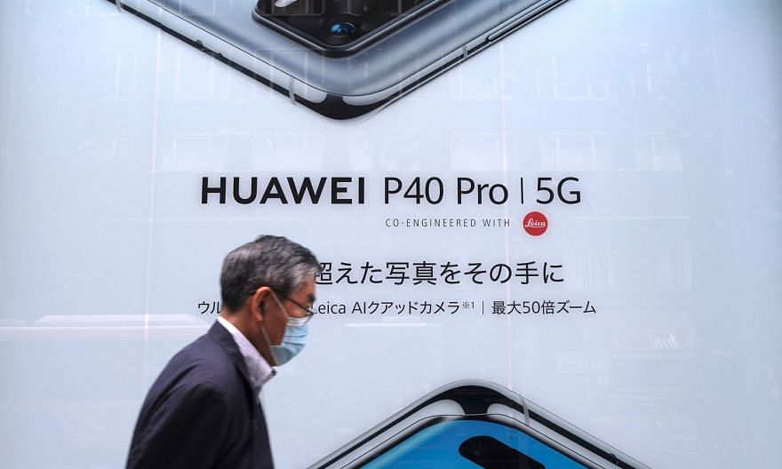 United States sanctions have already jeopardised Huawei's supply chain. In 5G, Britain has imposed a full ban, while France has devised rules making it riskier for operators to use Huawei equipment, without banning it outright. PHOTO: AGENCE FRANCE-P