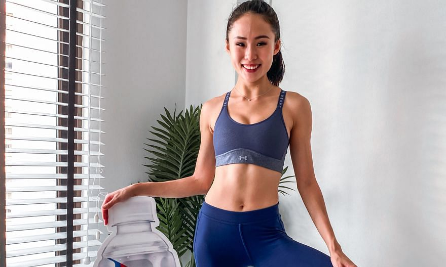 OCBC Cycle has engaged barre and spin instructor Tiong Jia En for a series of home-based virtual workout sessions to prepare participants for the Nov 1-15 virtual event.