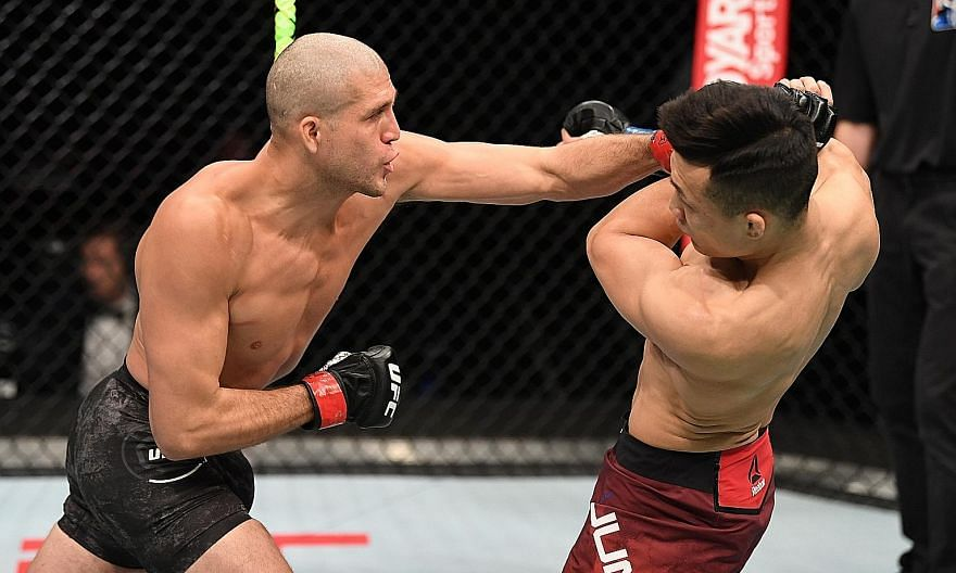 """Brian Ortega, in his first fight after two years of inactivity, beat South Korean Chan Sung Jung, better known as the """"Korean Zombie"""", by unanimous decision in the main event of UFC Fight Night 180 on Sunday. The Ultimate Fighting Championship bout w"""