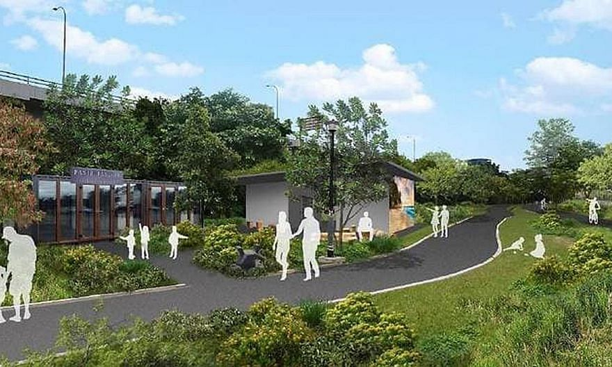 Stakeholders involved in discussions on Pasir Panjang Park wanted the area's history to be featured as part of the park's identity.