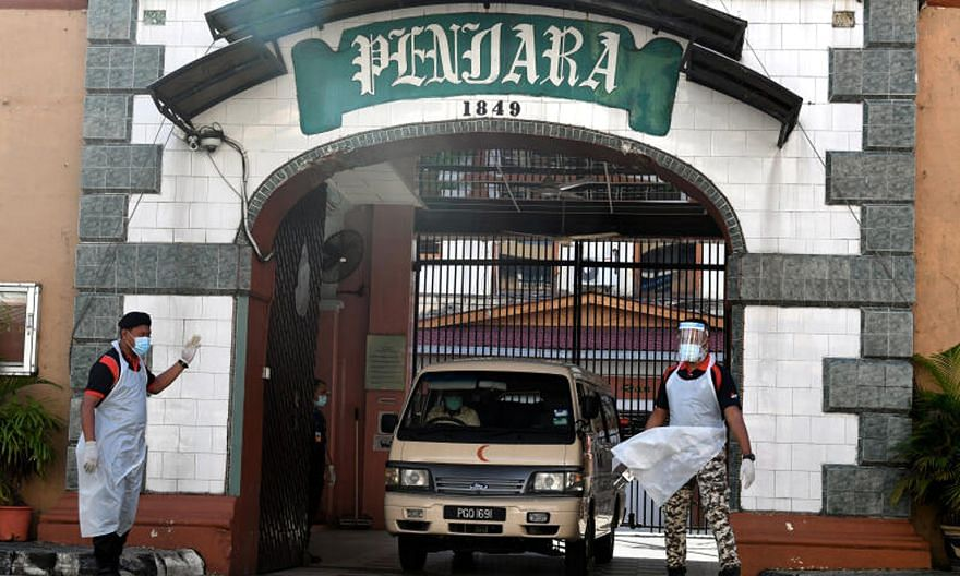 A coronavirus cluster at the Penang Remand Prison has seen at least 399 cases and one death. Outbreaks within prisons continue to pose a challenge for Malaysian state governments, as many prisons suffer from overcrowding.